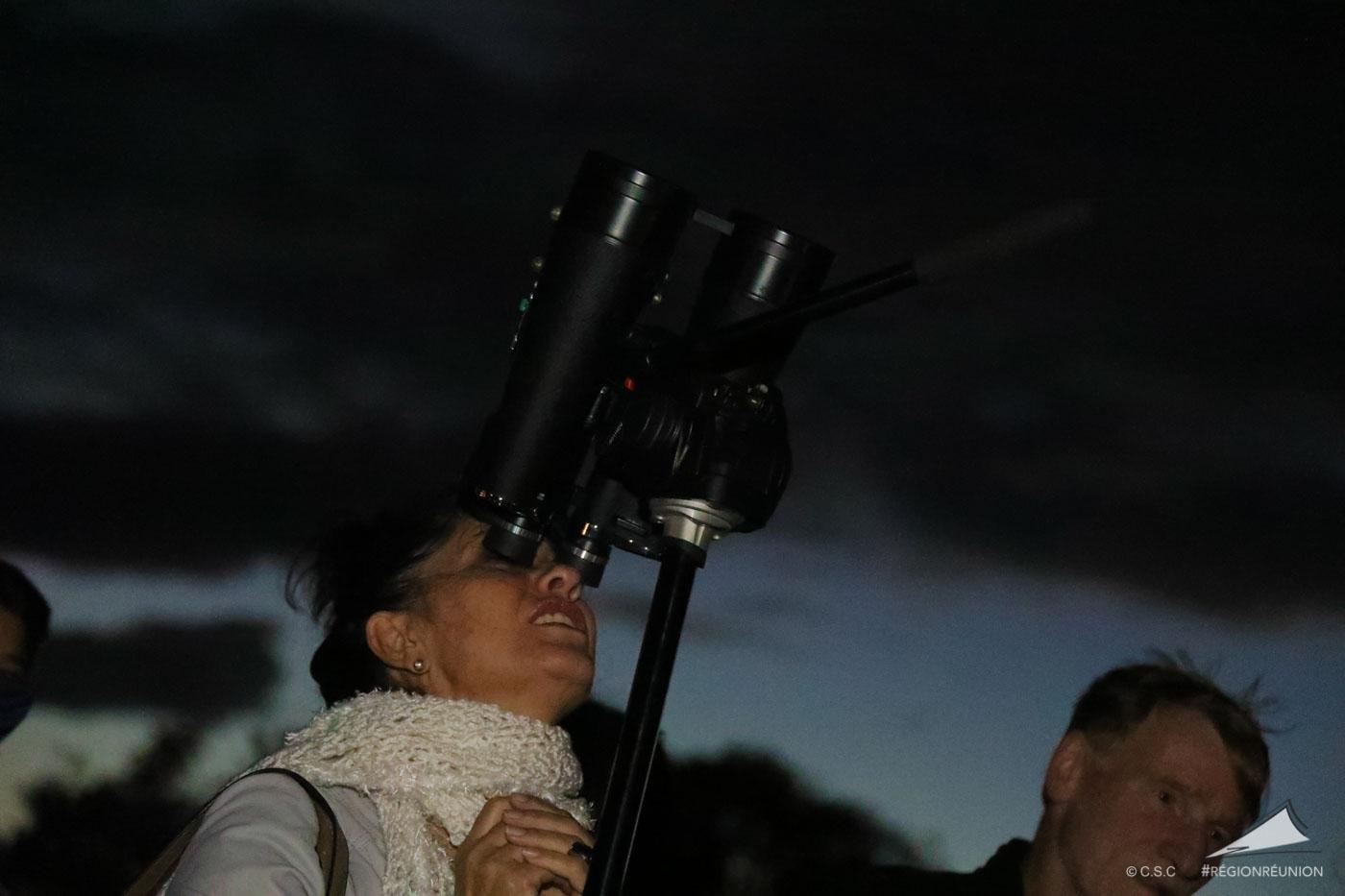 Retour en images : Soirée astronomie à Stella Matutina