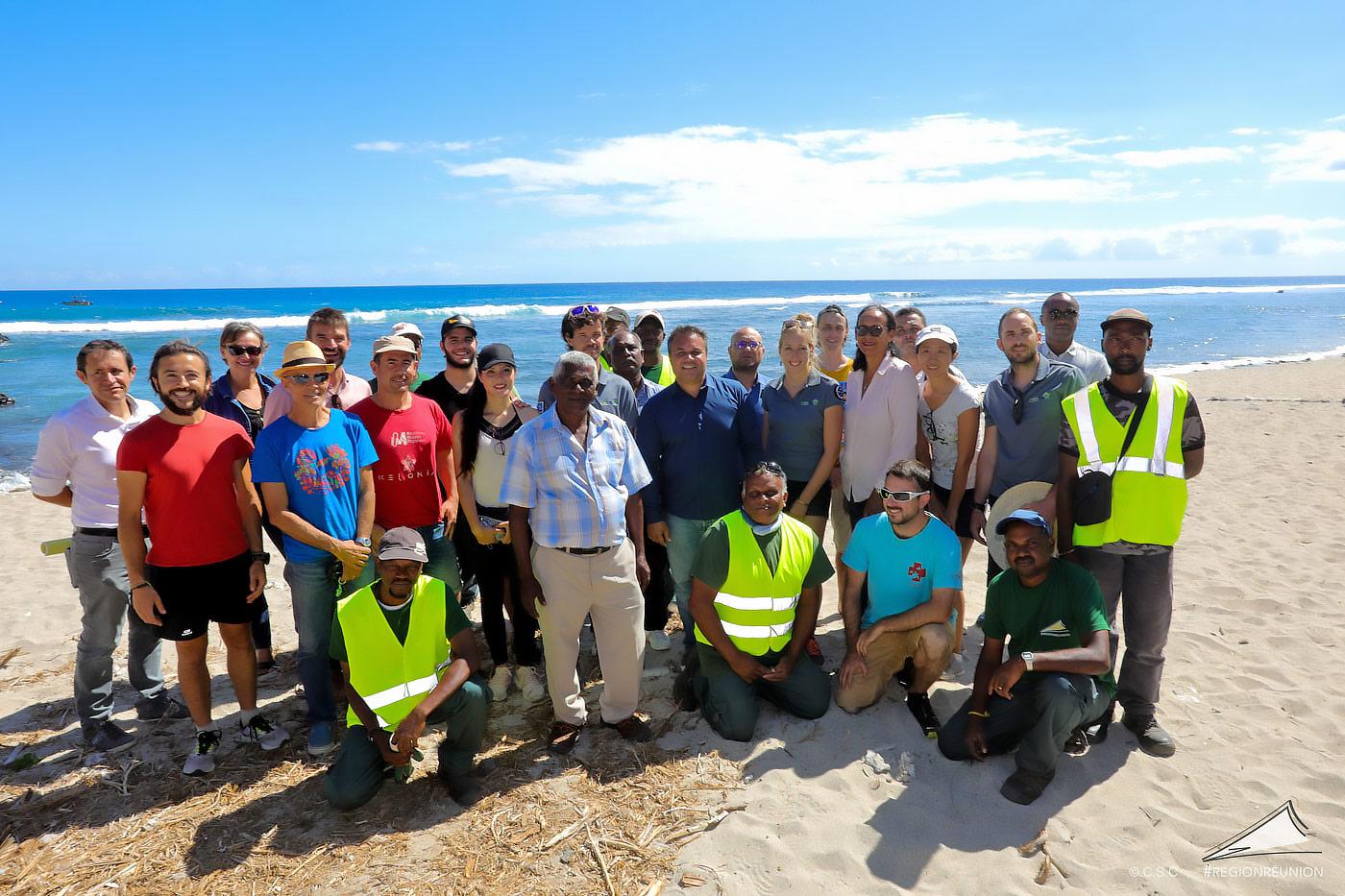 La restauration des plages de ponte des tortues marines à la Réunion (MCM03)