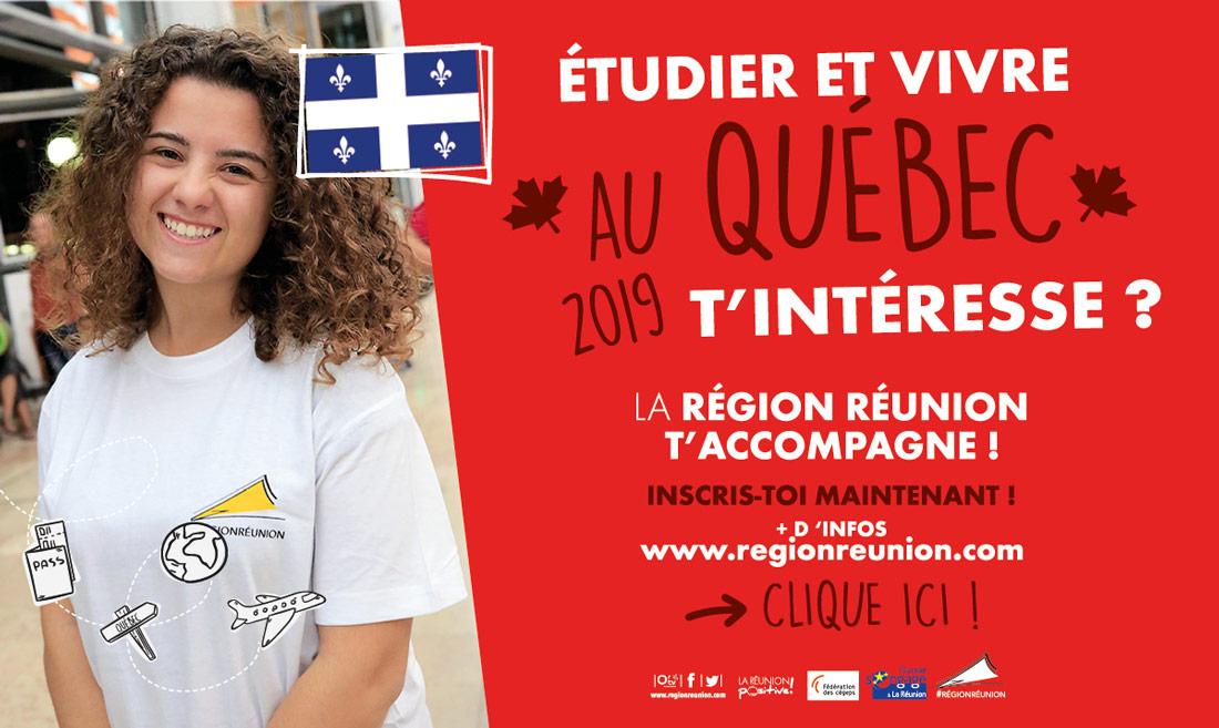 Étudier et vivre au Québec t'intéresse ?