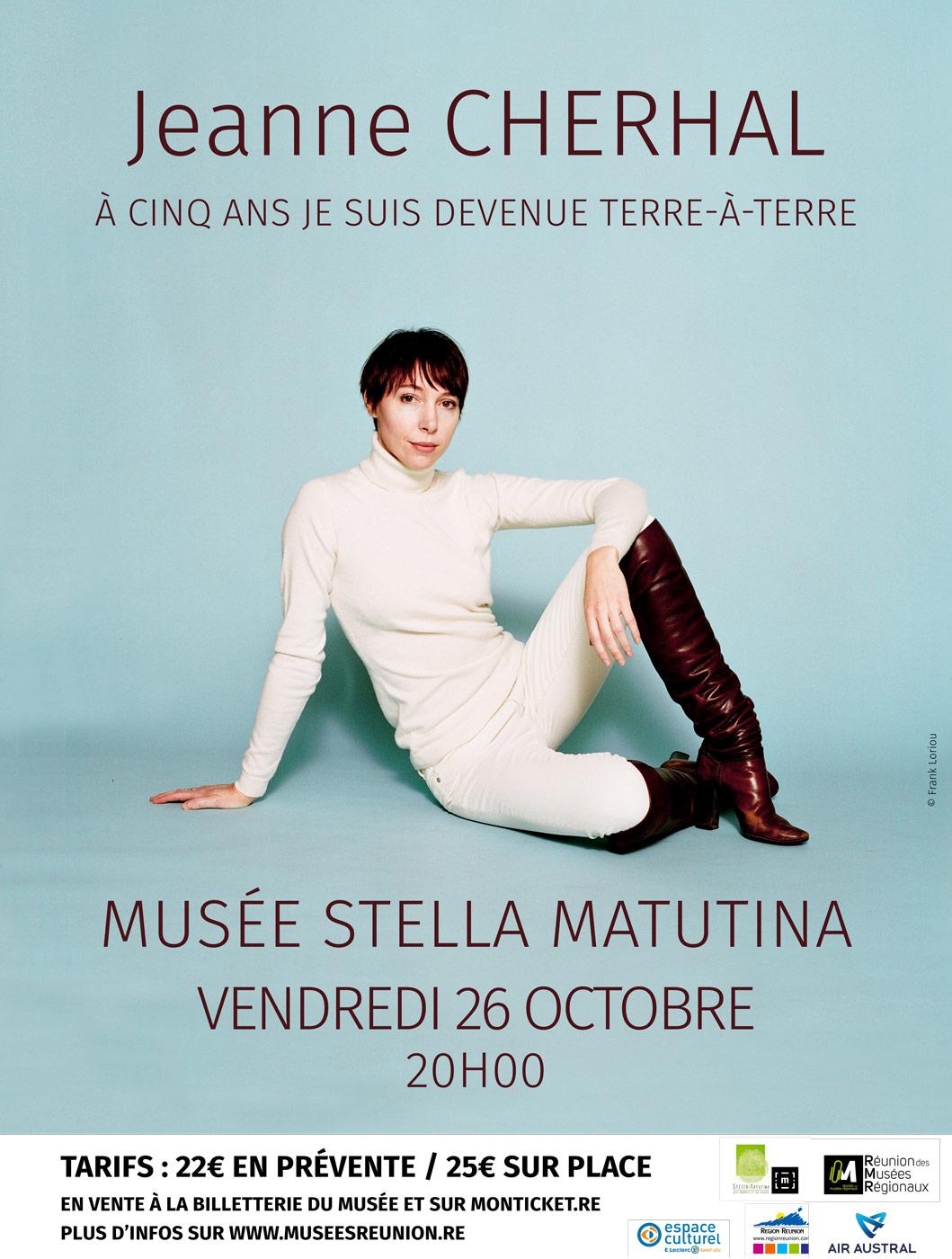 Concerts de Jeanne Cherhal au Musée Stella Matutina