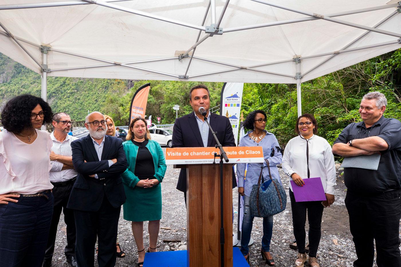 19 millions d'euros de travaux d'urgence sur la route de Cilaos