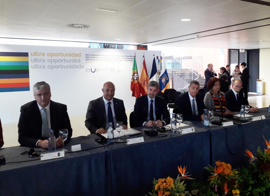 La conférence des présidents des RUP exprime son plein soutien à La Réunion et à Didier Robert