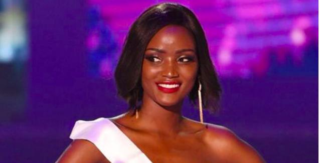 Les cheveux lisses de Miss Ouganda font polémique
