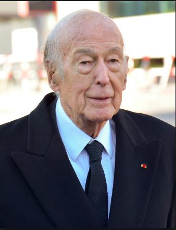 Le président Français Valérie Giscard d'Estaing