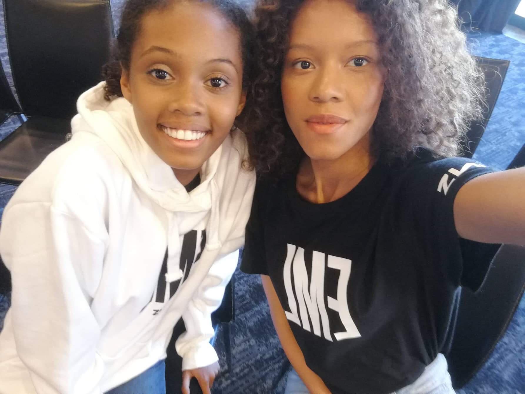 Camille et Agnès les finalistes Réunion Island et Mauritius Island du concours Elite sont à la finale internationale