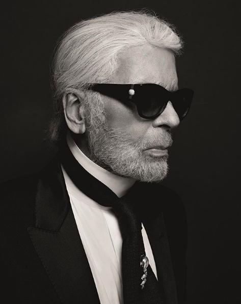 Photo: Instagram Karl Lagerfeld