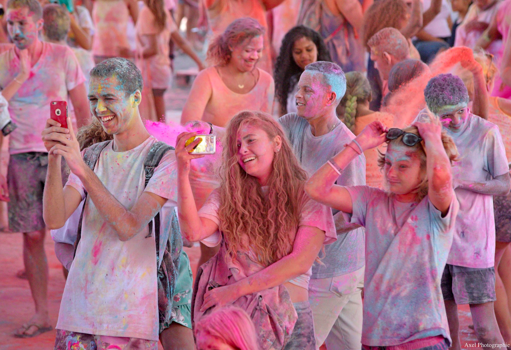Bras-Panon sous les couleurs du Holi Festival