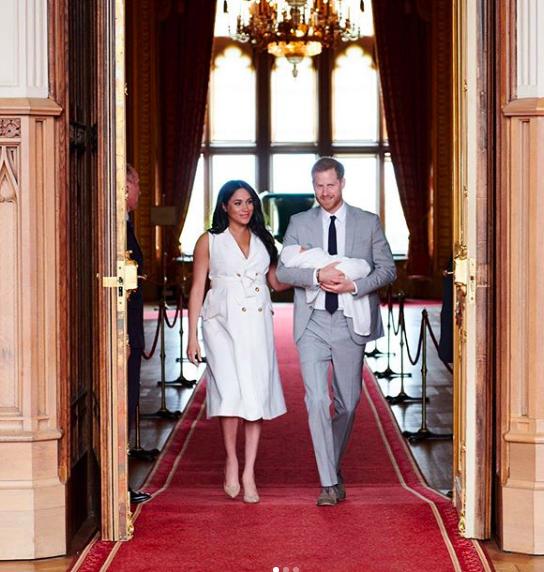 Photo: Capture Instagram Duke and Duchess Sussex