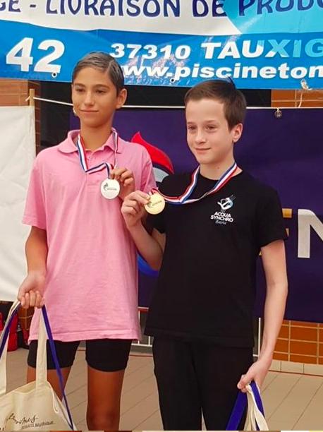 """Les """"Sirènes de l'Ouest"""" sacrées championnes de France de natation artistique !"""