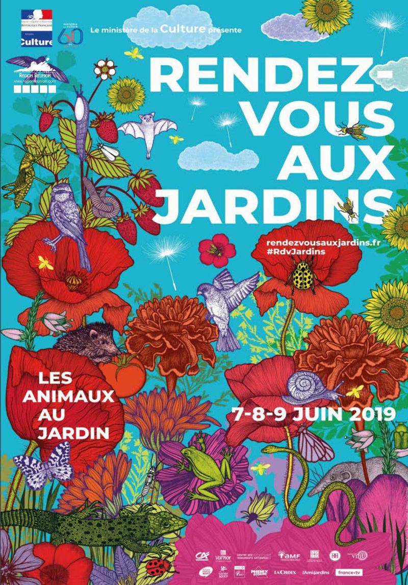 Rendez-vous aux jardins du 7 au 9 juin 2019