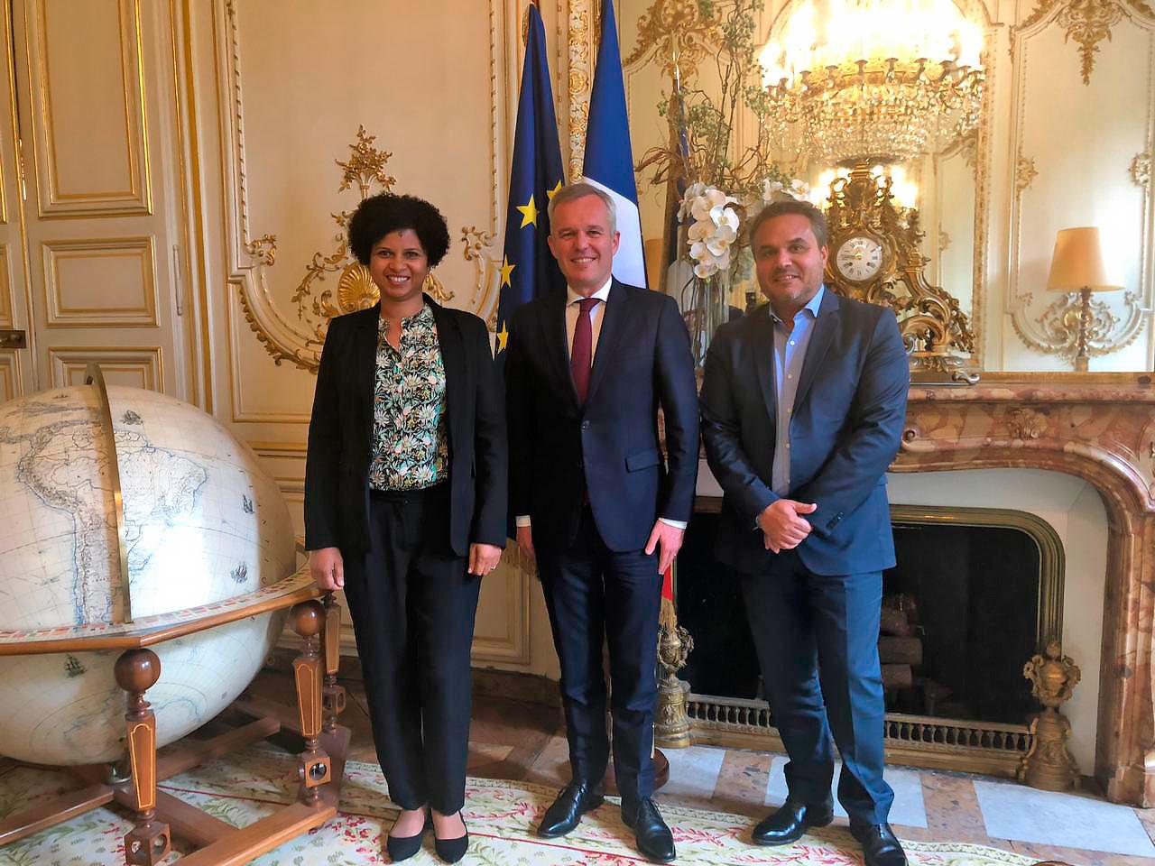 Didier ROBERT a rencontré François de RUGY Ministre de l'Écologie, du Développement durable et de l'Énergie