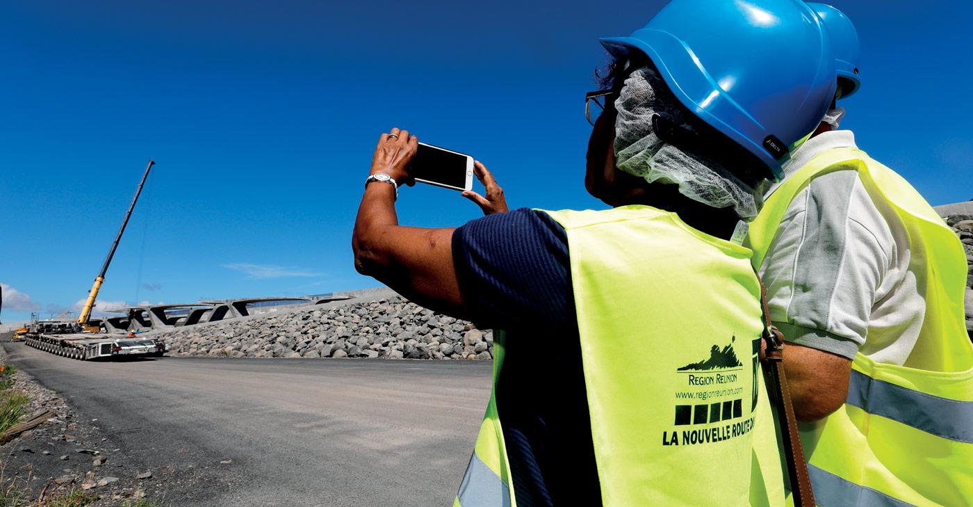 Information aux visiteurs du chantier NRL