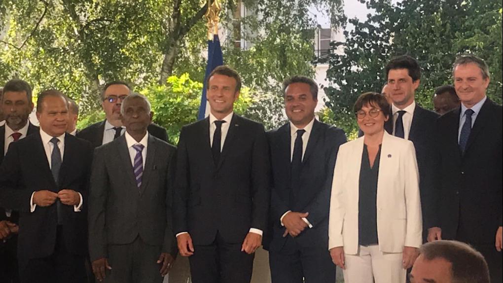 Le Président de la Région, Didier Robert plaide pour un partenariat Etat/Région au service des Réunionnais