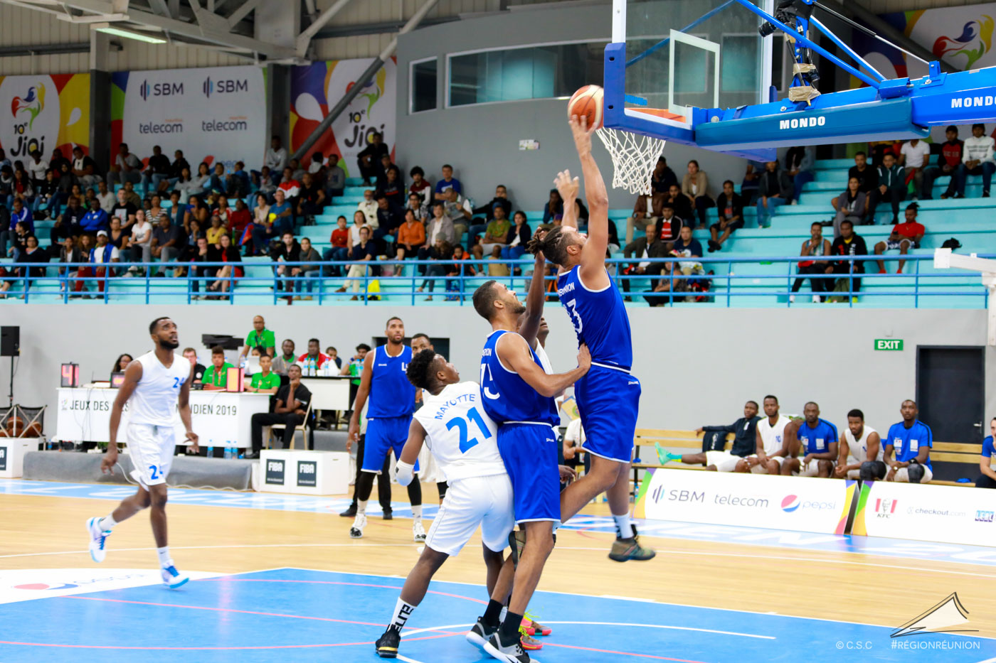 JIOI : Basket-Ball - Réunion / Mayotte