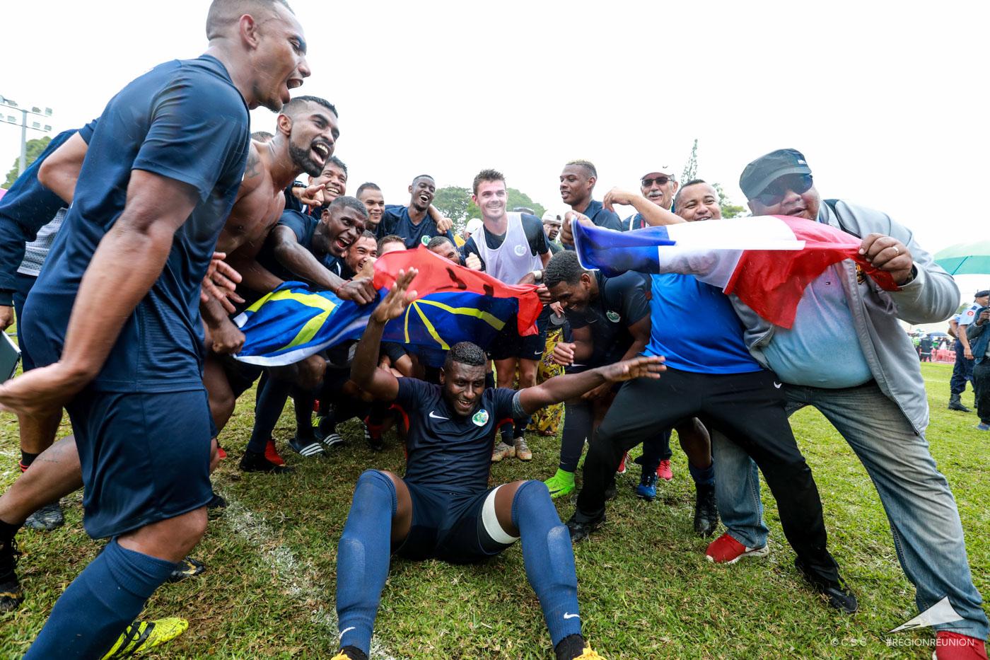 JIOI : Football (finale) : Réunion - Maurice