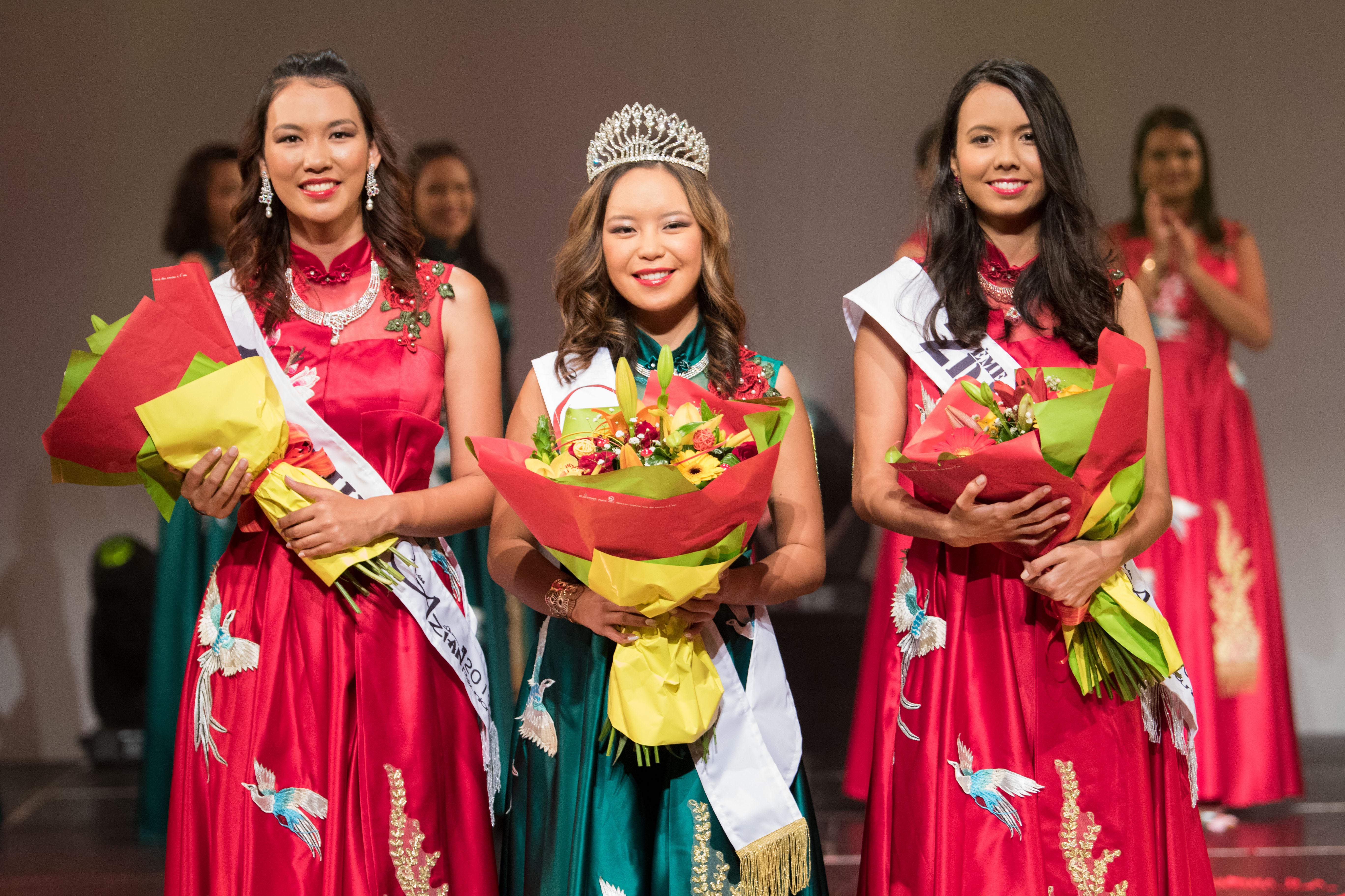 Amélie Chang-Kuw élue Miss Azian Réunion 2019