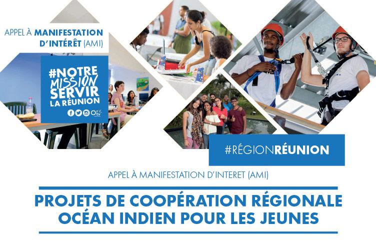 AMI : Projets de Coopération Régionale OI en faveur des Jeunes