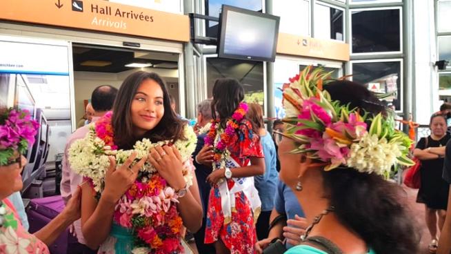 ▶️ Miss France Vaimalama Chaves est arrivée à La Réunion !