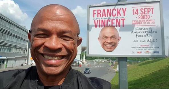 """Francky Vincent: """"le roi des beaufs"""", star du zouk grivois assure"""