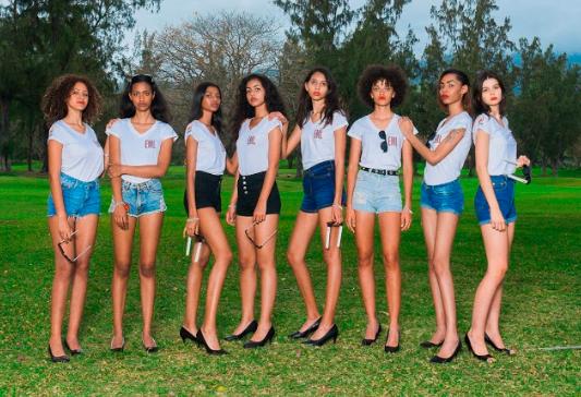 Sandjana, Camille, Saadjidad, Luana, Gwenaëlle, Odile, Gwenaëllle, Lola