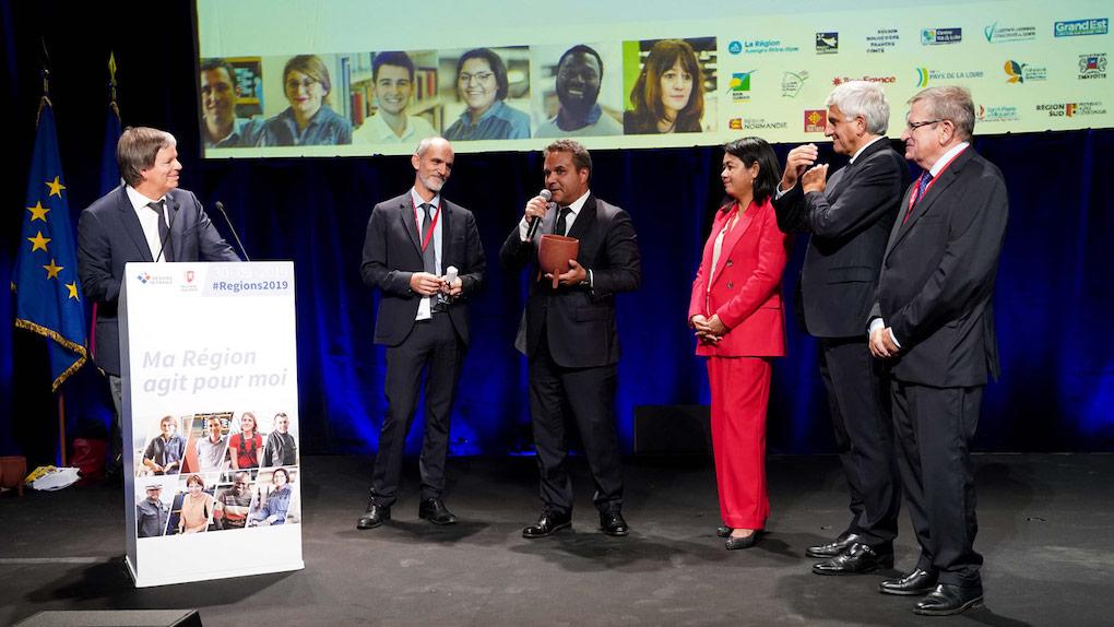 La Région Réunion reçoit un Prix de l'Innovation pour le soutien aux TPE/PME réunionnaises