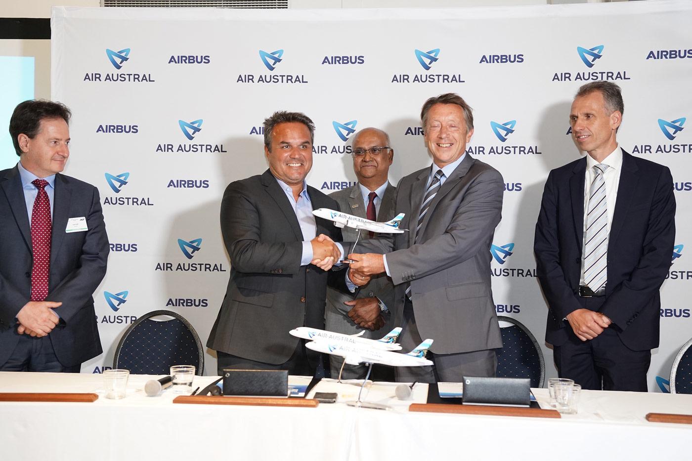 Air Austral renouvelle sa flotte avec trois nouveaux A220