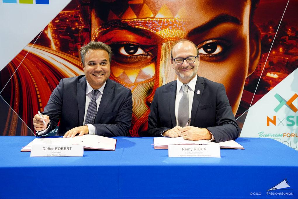 Signature de Convention de Prêt Vert Région Réunion - AFD