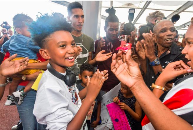 📷 Soan : son retour à La Réunion en images