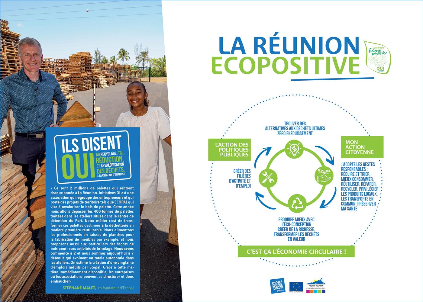 La Réunion Écopositive - Ecopal