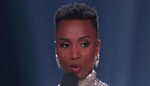 Miss Afrique du Sud devient Miss Univers 2019