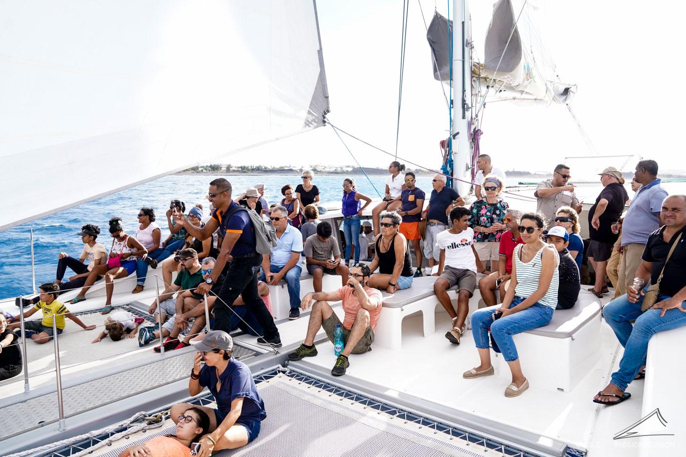 NRL : visite depuis la mer - Retour en images