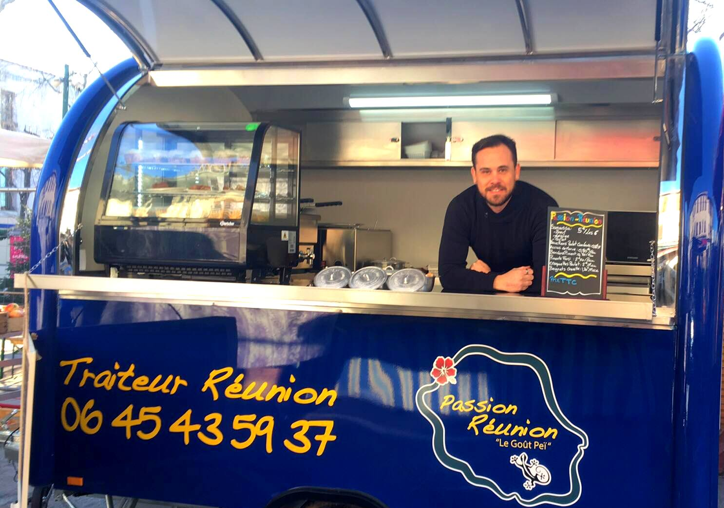 Passion Réunion, le food truck péi à Toulon