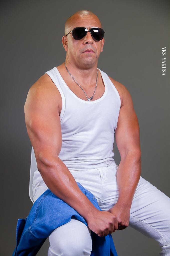 Abdelkader Allali : sosie officiel de Vin Diesel à la Réunion