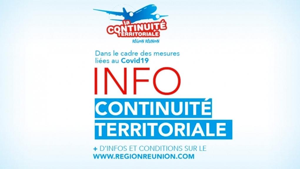 Continuité Territoriale - mesures liées au COVID-19