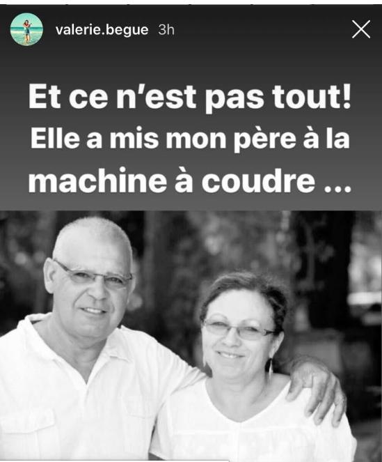 Valérie Bègue, sa mère en première ligne face  au Coronavirus à La Réunion
