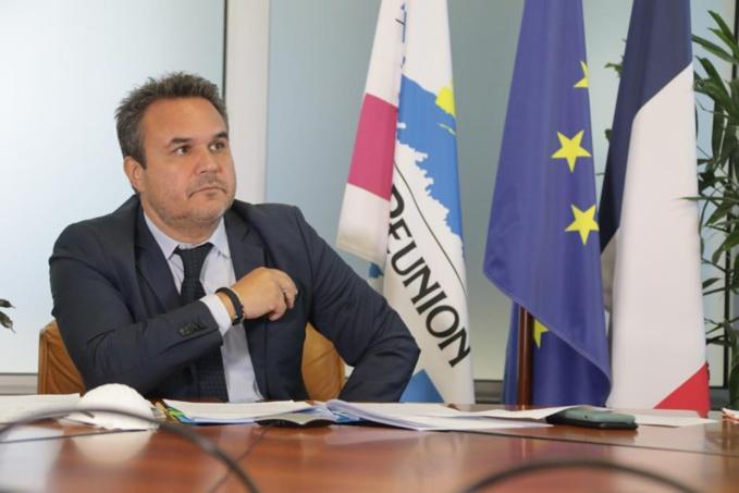 Didier ROBERT s'est entretenu avec le Président de la République et le Préfet de La Réunion
