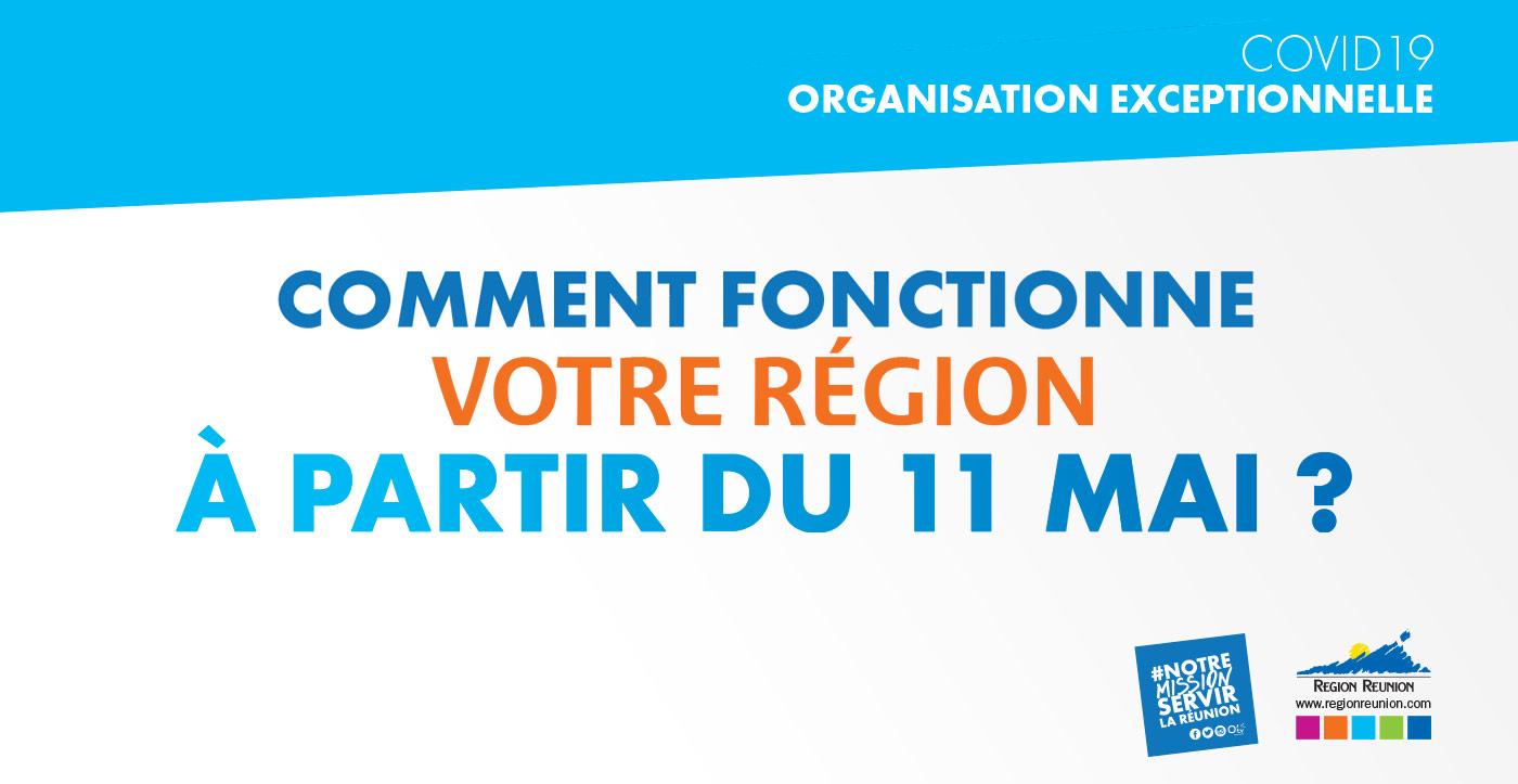Comment fonctionne votre Région à partir du 11 Mai ?