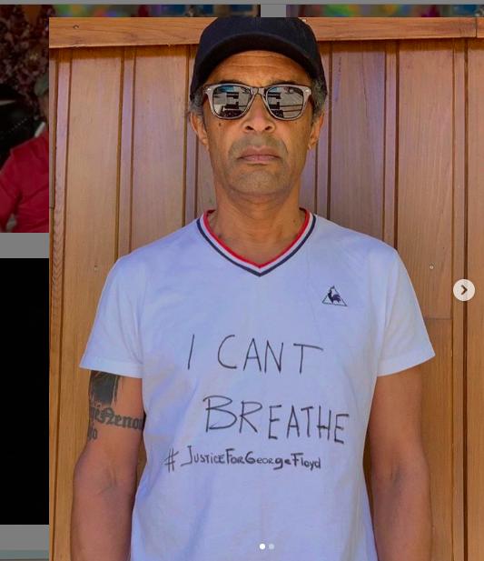 """"""" Black Lives Matter"""" : Yannick Noah déplore le silence des sportifs blancs"""