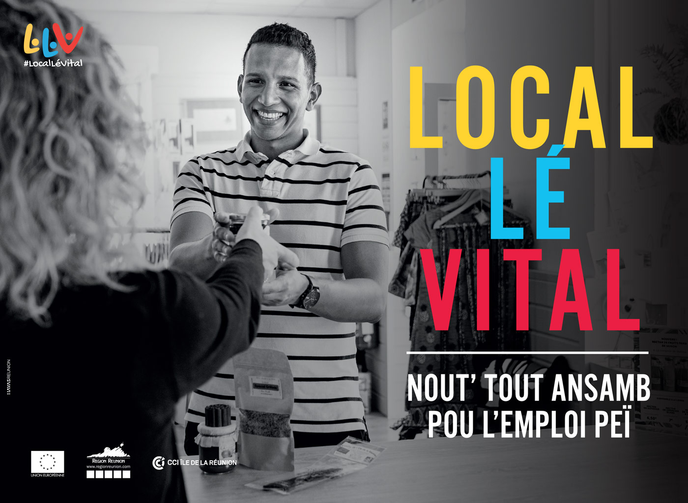 Local Lé Vital, Nout' Tout' Ansamb pou l'Emploi Péï