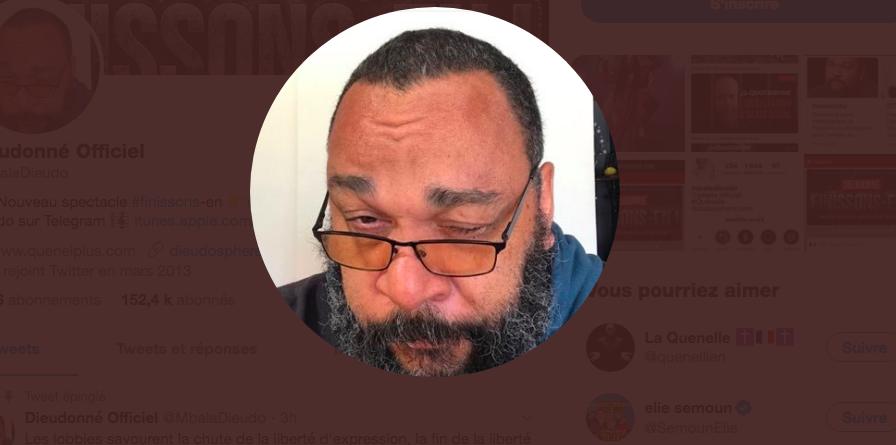 Facebook supprime la page de Dieudonné