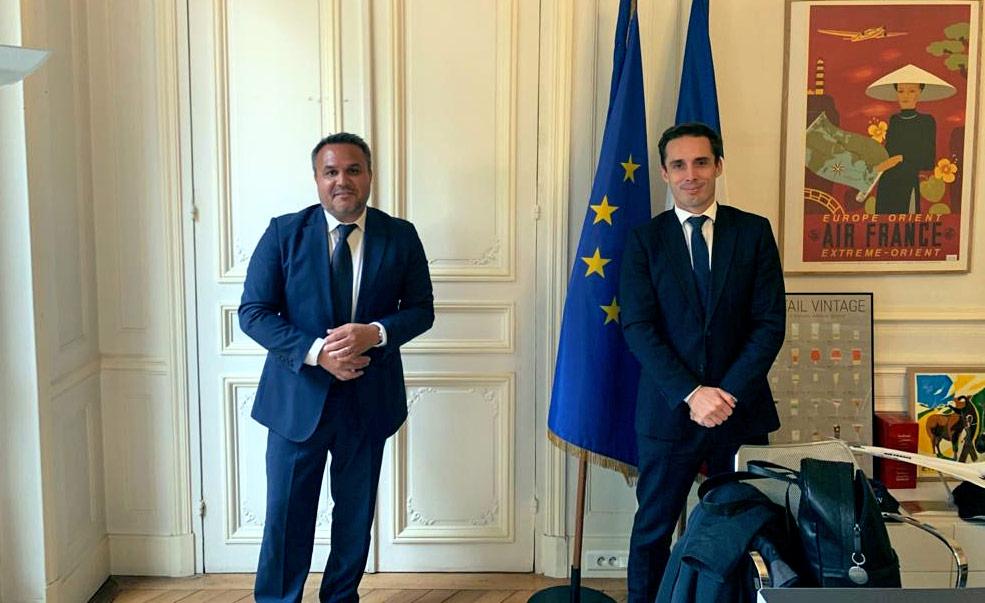 Didier Robert rencontre le Ministre Jean-Baptiste Djebbari : la question du transport durable au coeur du partenariat État/Région