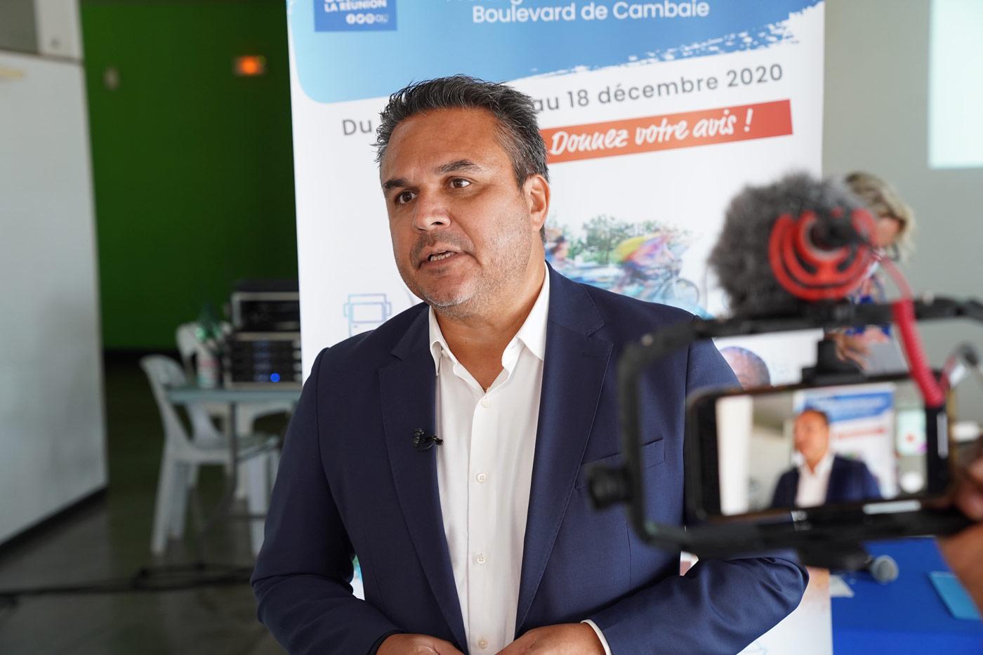 Lancement de la concertation préalable : Prolongement de l'axe mixte - Boulevard de Cambaie - Saint-Paul