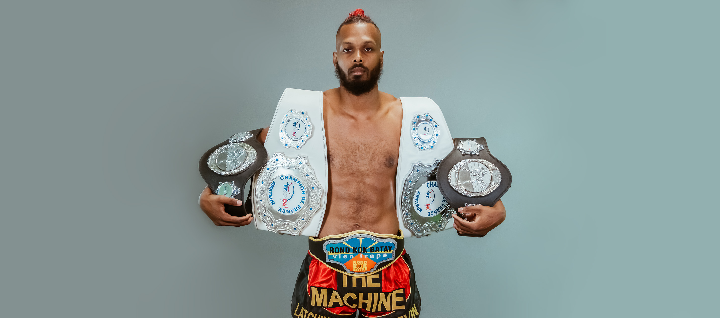 "Kevin Latchimy, ""The Machine"" du Kick Boxing"