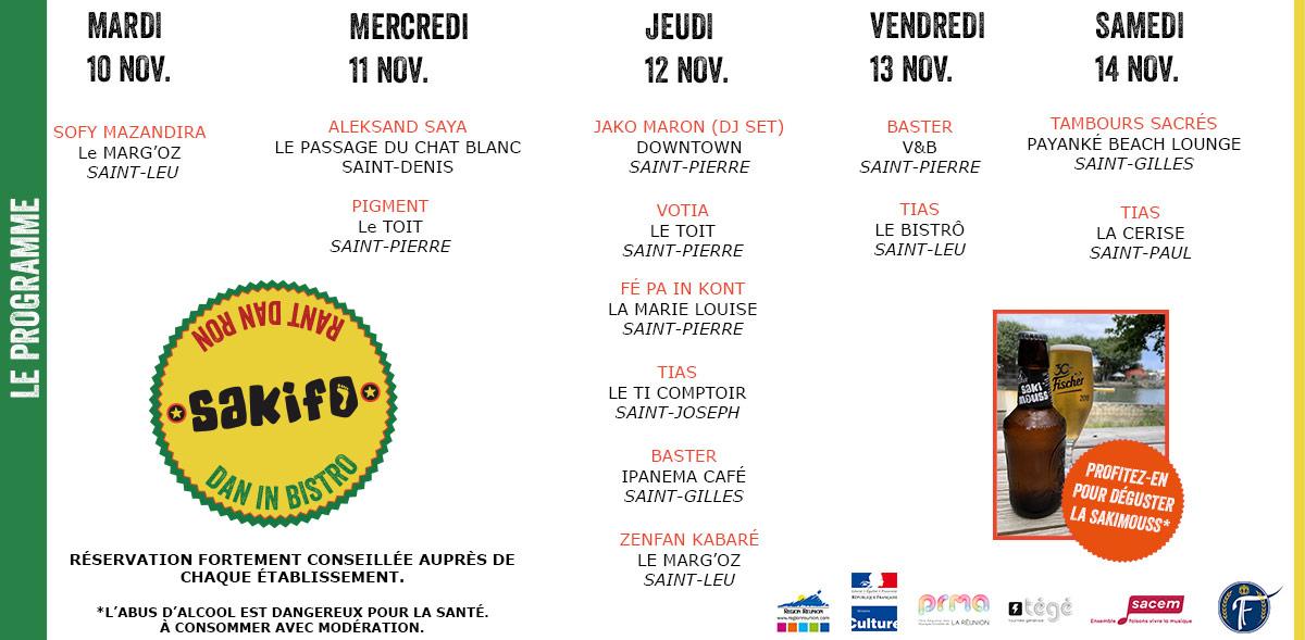 La Région Réunion partenaire du Sakifo !