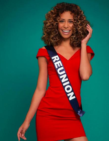 Miss Réunion parmi les 5 favorites Miss France 2021