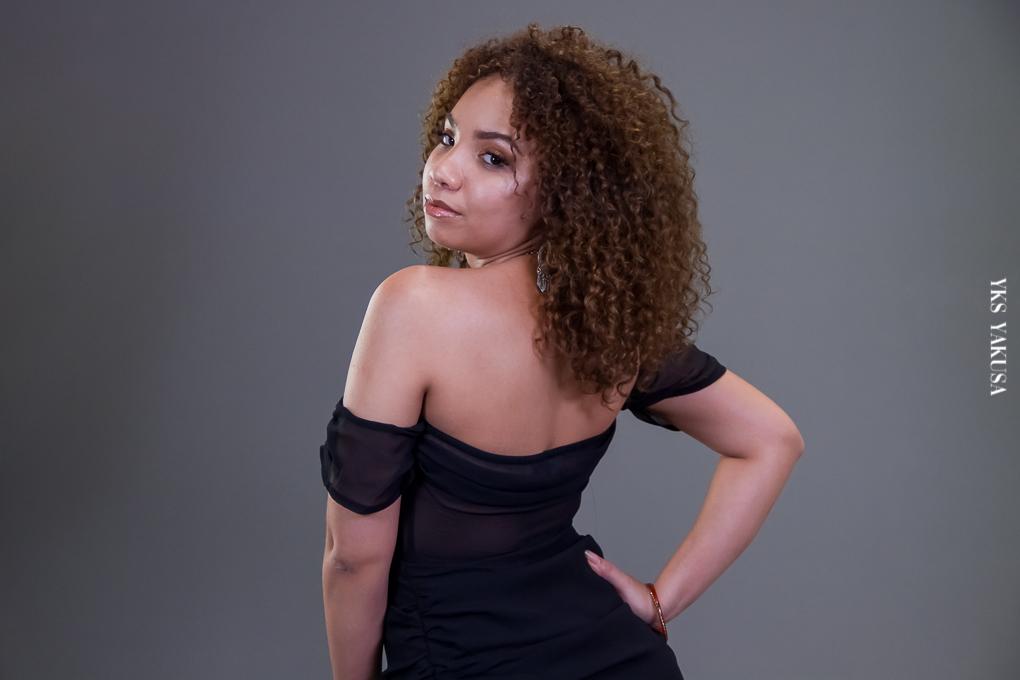 Emmaya la Réunionnaise qui met tout en oeuvre pour devenir actrice