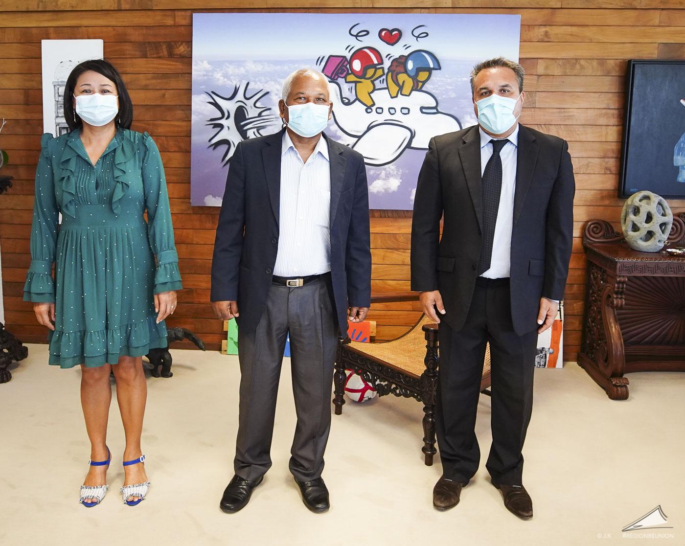 Entretien avec le nouveau Consul Général de l'Inde à La Réunion