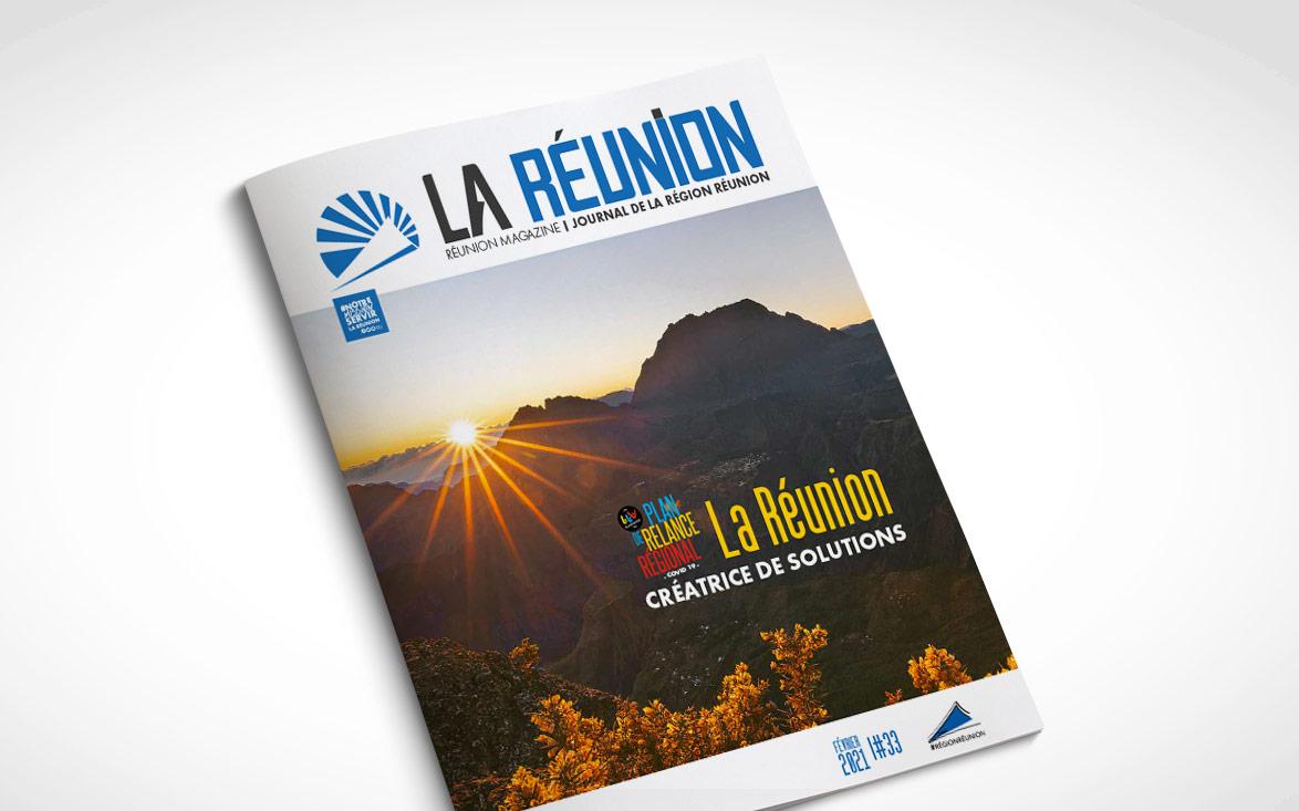 Journal de la Région Réunion - N° 33 - février 2021