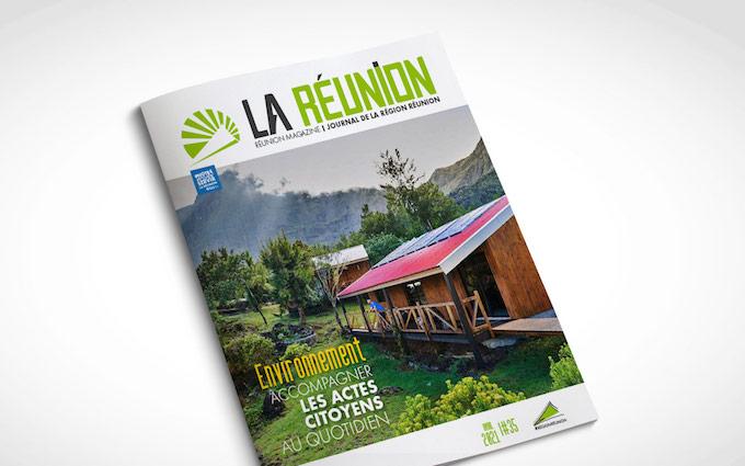 Journal de la Région Réunion - N° 35 - avril 2021
