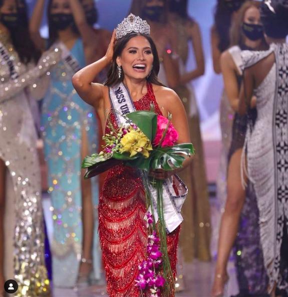 Miss Mexique, Andrea Meza, couronnée Miss Univers 2021